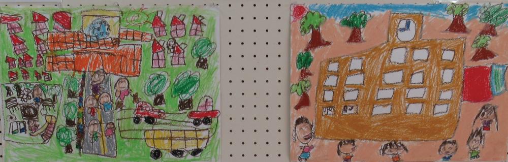 藤の木公民館 「藤の木」どんなまち? 児童コンクール作品展